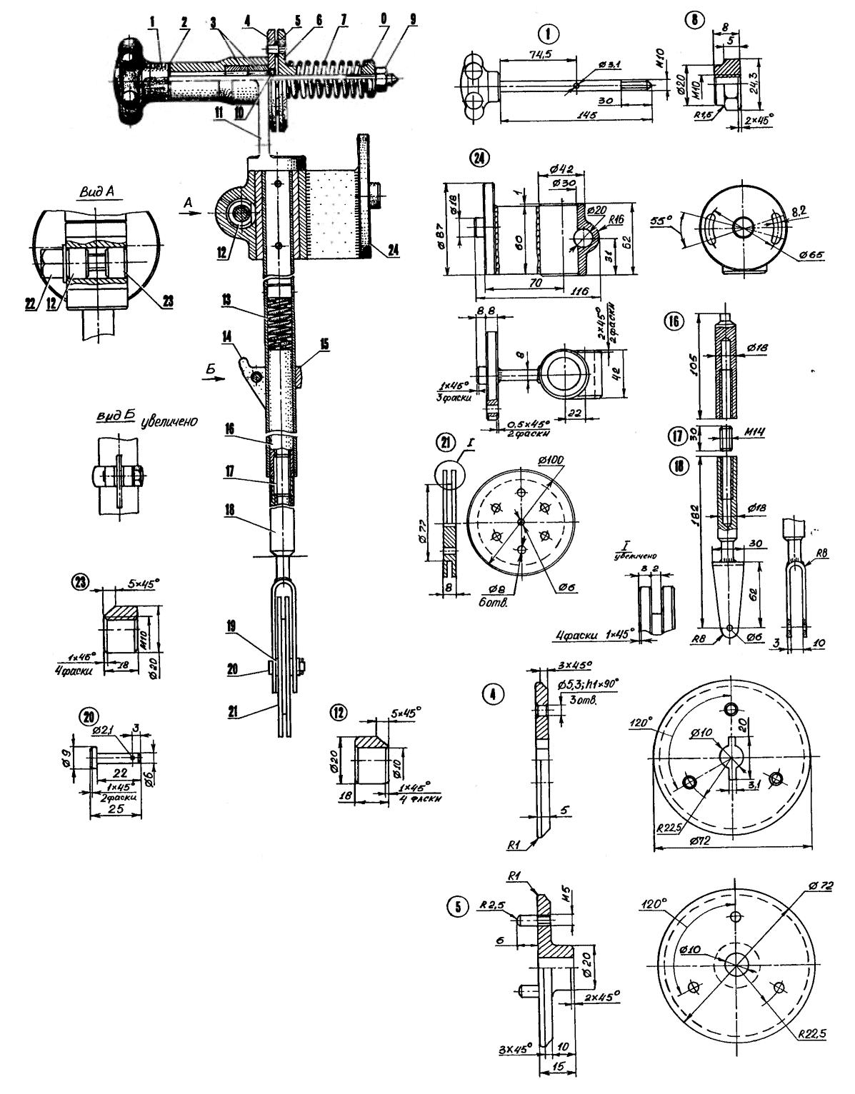 Приспособления для бензопилы своими руками чертежи