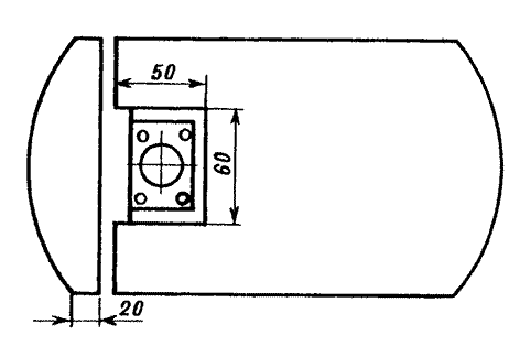 корпуса мотор-компрессора.